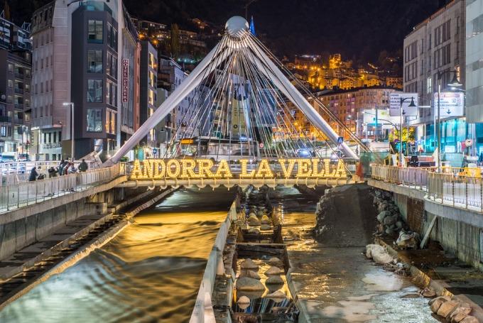 le nouveau point de vue incroyable d'Andorre